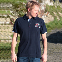 Celtic Nations Heritage Club Navy polo Shirt