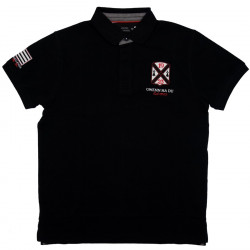 Celtic Alliance Breizh Black Polo Shirt