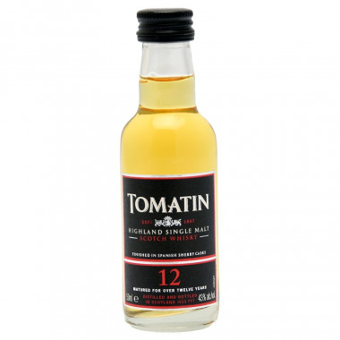 Tomatin 12 Years Old Miniature 5cl 43°