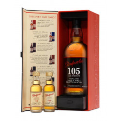 Glenfarclas 105 Cask Strength Set 70cl 60° + 2x5cl