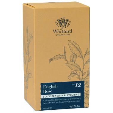 Whittard English Rose Tea 50 Teabags 125g