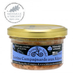 Country Terrine with Seaweed La Ferme du Triskel 80g