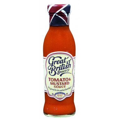 Tomato & Mustard Sauce Great British Sauce 320g