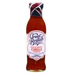 Hot & Sweet Chili Sauce Great British Sauce 335g