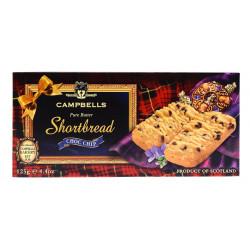 Campbells Shortbreads aux Pépites de Chocolat 125g