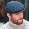 Celtic Alliance Side Tab Blue Flat Cap
