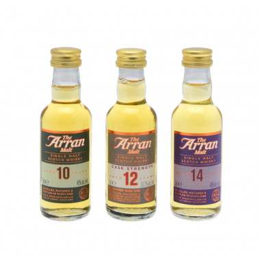 Arran Tasting Set 10 / 12 / 14 Years Old 3x5cl 48.4°