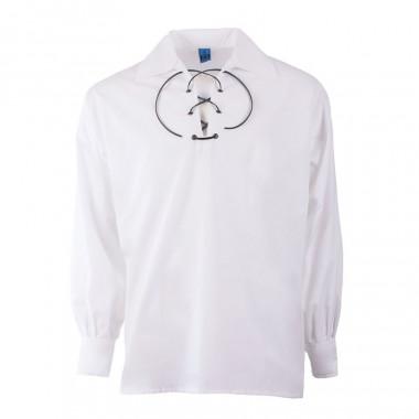 Chemise Blanche à Lacet