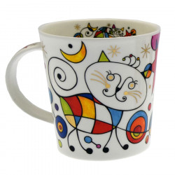 Mug Curious Cat Dunoon 320ml