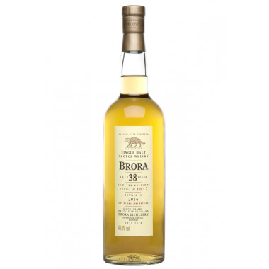 Brora 38 ans Special Release 2016 70cl 48.6°