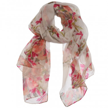 Out of Ireland Floral Scarf