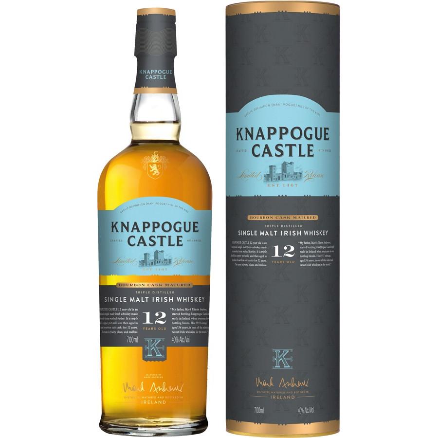 b24d32ed22e4 Knappogue Castle 12 Years Old 70cl 40°