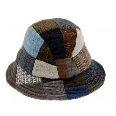 Hanna Hats Patchwork Hat