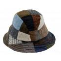 Hanna Hats Patchwork Hat