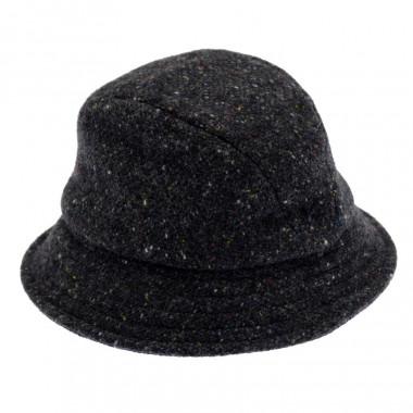 Hanna Hats mottled grey Hat