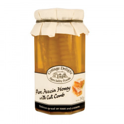 Pure Acacia Honey with Cut Comb 340g