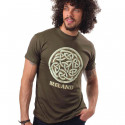 Ireland Celtic Knot Kaki T-Shirt