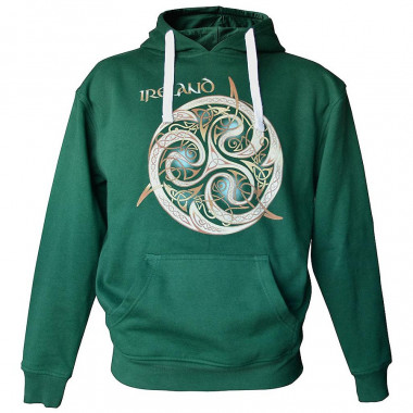Celtic Bottle Green Hoodie