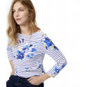 Tom Joule Floral patterns Navy Stripes Top