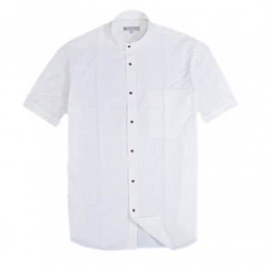 Out Of Ireland White Shirt Officer Collar