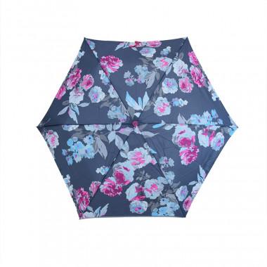 Parapluie Fleurs Fond Gris Tom Joule