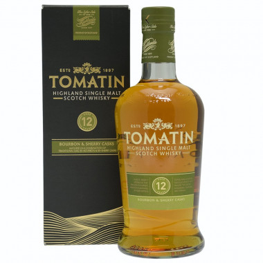 Tomatin 12 ans 70cl 43°