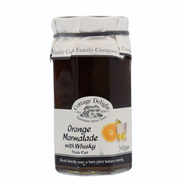Orange & Whisky Marmelade Cottage Delight 340g