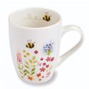 White Ceramic Mug Bee Collection 250ml