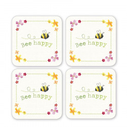 Dessous de Verre x4 Collection Bee