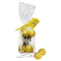 Mallow Tree Lemon Lollipops x8 220g