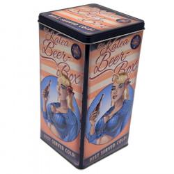 "Retro Style Box ""Blond Hair"""