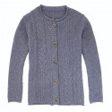 Cardigan Boutonné Torsades Jean Out Of Ireland