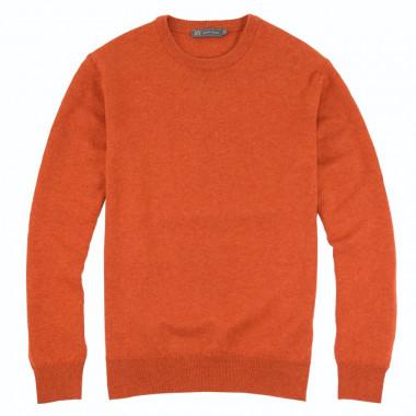 Best Yarn Lambswool Pepper Round Collar Sweater