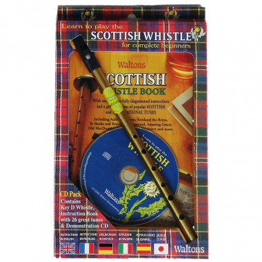 Scottish Tin Whistle Pack CD & Tutorial