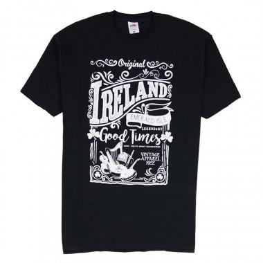 T-shirt Ireland Emerald Noir