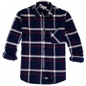 Out Of Ireland Flannel Navy, Red and White Shirt