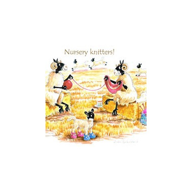 Nursery Knitters Coaster
