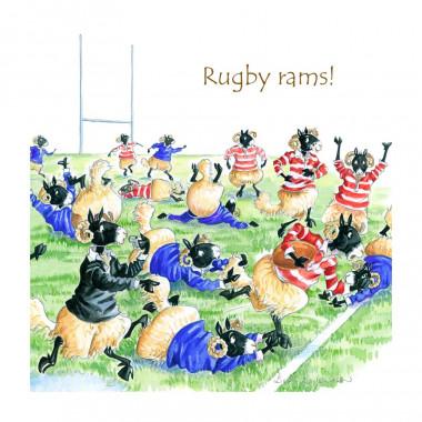 Dessous de Verre Rugby Rams