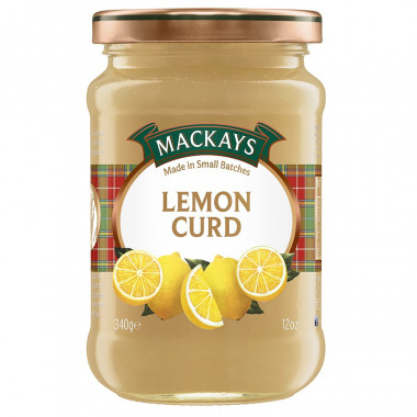 Lemon Curd Mackays 340g