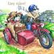 Dessous de Verre Easy Riders