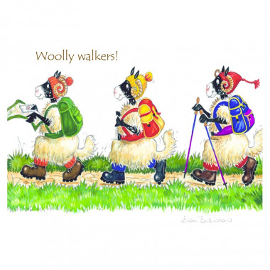 Set de Table Woolly Walkers