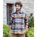 Chemise Grands Carreaux Bleu et Jaune Out Of Ireland