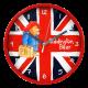 Paddington Bear Wall Clock