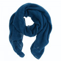 Out Of Ireland Light Blue Jacquard Patterns Scarf