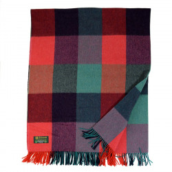 Irish Lambswool Plaid John Hanly (Large Size)